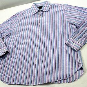 Michael Kors Long Sleeve Button Front Shirt